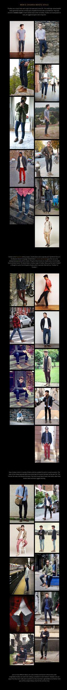Men's Chukka Boots Style