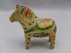 RARE Early 1900s Swedish Dala Horse Sweden   eBay
