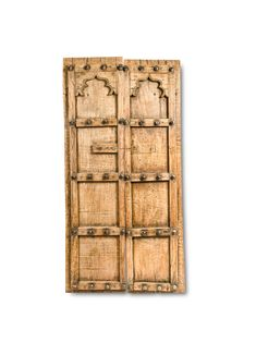 This antique door is the epitome of innovative art pursued during ancient India, a time when all crafts were revered. This antique has survived for a long time, owing to its solid construction. Durable to the hilt, it features two panels, constructed in recessed blocks with satin finish throughout the construction. The door hails from the ancient culture of India—the … Indian Doors, India Culture, All Craft, Wood Doors, Satin Finish, Construction, Antiques, Interior, Crafts