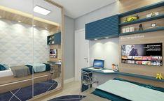 Study Table Designs, Study Room Design, Boys Room Design, Small Room Design, Modern Bedroom Design, Bed Design, Home Office Bedroom, Small Room Bedroom, Kids Bedroom