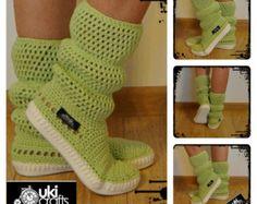 Botas zapatos cargadores al aire libre Moda por JoyForToes en Etsy