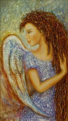 This angel reminds me a bit of Monica from Touched by an Angel 😇 Seraph Angel, Angel Guide, I Believe In Angels, Art Diary, Angel Pictures, Angels Among Us, Angels In Heaven, Arte Popular, Guardian Angels