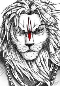 Narasimha Drawing Related Keywords & Suggestions - Narasimha Drawing Long Tail Keywords
