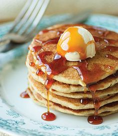 Saturday Pancakes from Every Day Classics (gluten-free, dairy-free, egg-free)