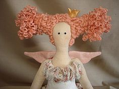 Princess Hairstyle-tilde | Fair Masters - handmade, handmade    In Russian, but lots of pics.