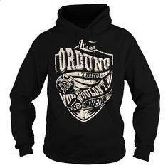Its an ORDUNO Thing (Dragon) - Last Name, Surname T-Shirt - #gift box #cool gift