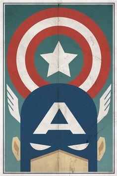 Capitão América.
