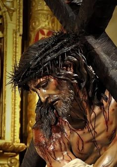 Christ Tattoo, Jesus Tattoo, Crucifixion Of Jesus, Jesus Christ Statue, Jesus Christ Painting, Jesus Drawings, Image Jesus, Jesus E Maria, Religion