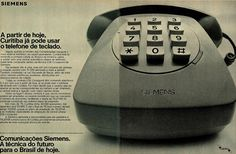 Siemens #Brasil #anos70 #retro #anunciosAntigos #vintageAds