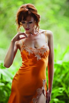 Marjolaine Lingerie - Silk Nightwear - Oleanda Dessous   #Marjolainelingerie #Marjolaine
