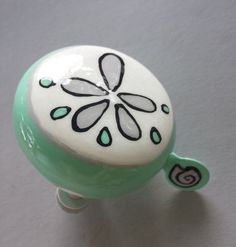 Hand Painted Bicycle Bell By Dring Dring Www Dringdring Ca