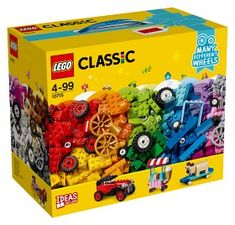 Superb LEGO 10715 Classic Bricks on a Roll Construction Set Now at Smyths Toys UK. Shop for LEGO Classic At Great Prices. Lego Ww2, Lego Wheels, Wheels And Tires, Classic Lego, Classic Toys, Lego Sets, Legos, Lego Vintage, Lego Online