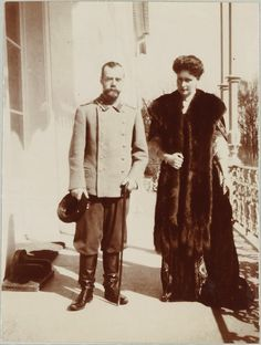 Czar Nicholas and Alexandra