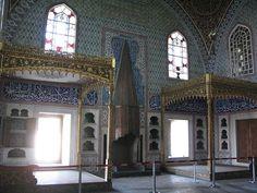Royal bedroom at the Topkapi Palace