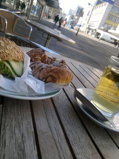 Bäckerei Frühstück Fußgänger Zone Kassel