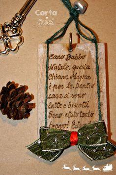 Carta e Cuci: La Chiave Magica di Babbo Natale