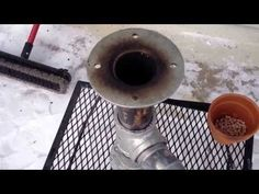 Video #2 DIY rocket stove cheap easy no tools in action, testing and boiling snow - YouTube