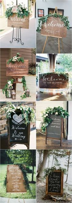 20 Greenery Rustic Wooden Welcome Wedding Signs - Dekor Ideen Green Wedding, Fall Wedding, Diy Wedding, Wedding Flowers, Wedding Ideas, Wedding Season, Wedding Cakes, Trendy Wedding, Perfect Wedding