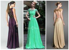 modelos de vestidos para madrinhas de casamento longos