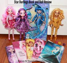 Star Darlings book doll review