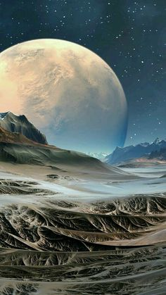 Fantasy Duvet Covers and Science Fiction - Miriam Andrews Photo Page Wallpaper Earth, Planets Wallpaper, Wallpaper Space, Galaxy Wallpaper, Wallpaper Maker, Hd Wallpaper, Space Artwork, Moon Pictures, Alien Worlds