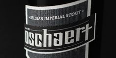 """Oschaert  This Belgian imperial stout is based on the myth of the terrorizing creature which roamed the city of Hamme, Belgium.    """"The Oschaert, a malicious creature in the shape of either a black dog or dark horse, terrorized and attacked lost travelers on theire way through the small city of Hamme in Belgium. Its favorite trick was to jump on their backs, pinning them down or crushing them under its weight."""