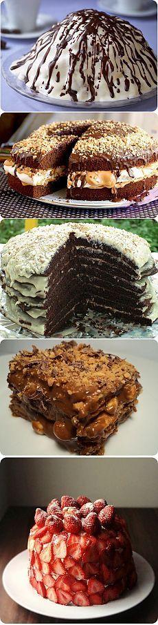 9 самых вкусных тортов - Простые рецепты Овкусе.ру