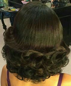 1940s Hairstyles, Everyday Hairstyles, Curled Hairstyles, 1960s Hair, Hair Flip, Hair Affair, Shoulder Length Hair, Big Hair, Hair Lengths