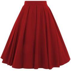 Alison Swing Skirt