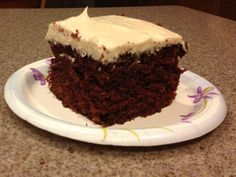 "By Popular Demand - The Famous ""Marina Cake"" from back in the 60's, 70's, and early 80's. Back when they made everything from scratch, right at the school; my mom ran the schools' kitchens for the District, and this is the authentic recipe!"