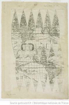 Le Globe Terrestre / Par P. Du Val Geographe du Roy - 1666