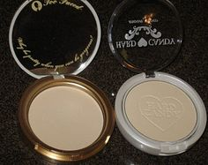 Too Faced Candlelight VS Hard Candy Moon Glow