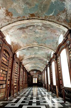 St. Stefanus monastery library, Ghent (Belgium)