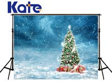 Kate Merry Christmas Background Photography Snowstorm Backdrops Fondos De Estudio Fotografia Christmas Tree For Child Hj02171(China (Mainland))