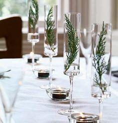Feestdagen | De mooiste kersttafels, centerpieces en tafeldecoraties