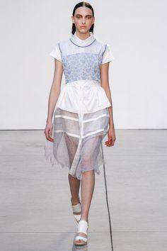 Thakoon Spring 2013 Ready-to-Wear Fashion Show - Clarice Vitkauskas