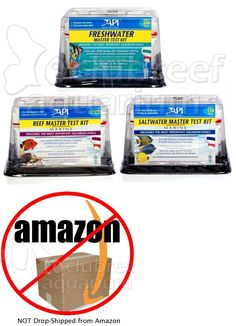 Water Tests and Treatment 77659: Api Master Multi Liquid Type Test Kits Freshwater Saltwater Reef Aquarium Tank -> BUY IT NOW ONLY: $31.97 on eBay!
