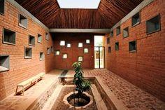 Key projects by Serpentine Pavilion architect Diébédo Francis Kéré Brick Architecture, Vernacular Architecture, Cultural Architecture, School Architecture, Sustainable Architecture, Interior Architecture, Plan Design, Art Design, Serpentine Pavilion