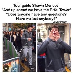 If Shawn was my tour guide I'd follow him EVERYWHERE❤️❤️