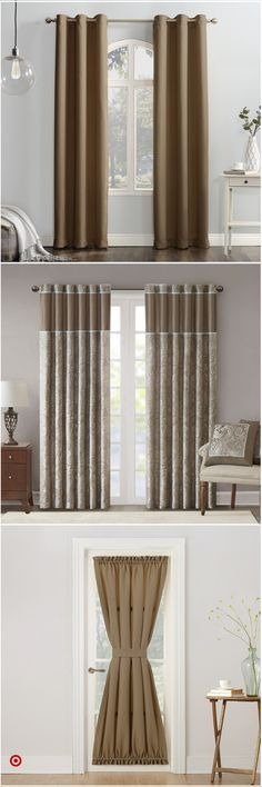 Shop Target for casual & pleat & rod & pocket you will love at great low prices. Free shipping on orders of $35+ or free same-day pick-up in store. Trendy Black Outfits, Girls Bedroom, Bedroom Decor, Elegant Curtains, Pick Up In Store, Room Accessories, Rod Pocket, Window Treatments, Editor