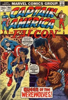 Okay, this one's notable for just how downright wacky it is (rather than being a great comic book story). It's a one-off drawn by the underrated Alan Weiss that includes a villainess who spends the entire issue in leather undies (her personality wrapped only slightly tighter than her hair), who turns the Falcon into a werewolf in service to the Yellow Claw. It even includes Nick Fury dressed as son of Frankenstein (I kid you not!). About as bizarre as 1970s mainstream comics ever got.