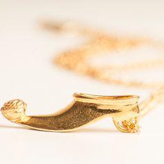 The Tsarouhi pendant..Inspiration the Greek Parliament Guards shoe