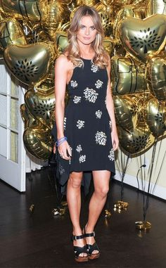 Prince Harry's Ex Cressida Bonas Parties in Hollywood - Celebrity Fashion Trends