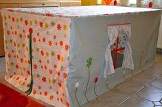 Spielhaus/Tischhöhle