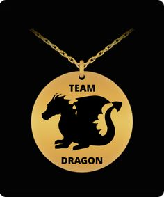Dragon Necklace, Dragon Pendant, Laser Engraving, 18k Gold, Necklaces, Gifts, Stainless Steel, Design, Presents
