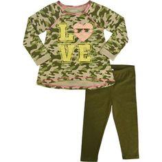 Healthtex Baby Toddler Girl Knit Tunic and Legging Set