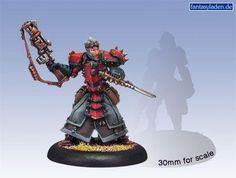 Privateer Press - Warmachine - Khador Warcaster Kommander Strakhov Model Kit