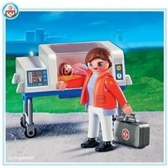 Playmobil 4225 Doctor with Incubator by Playmobil. $29.95. Doctor with Incubator. Playmobil 4225