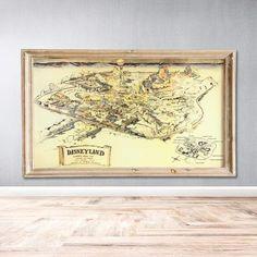 Maps – Planet Fan Cave Vintage Disneyland, Map Vector, Walt Disney Company, Disney Home, Disney Merchandise, Disney Inspired, Free Photos, Different Colors, Vintage World Maps