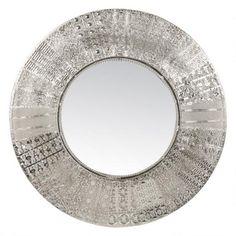 Priya Wall Mirror Silver